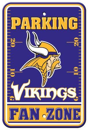 Minnesota Vikings Parking Sign