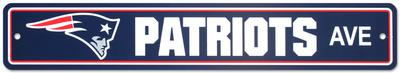 NFL New England Patriots Street Sign