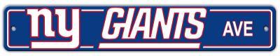 NFL New York Giants Street Sign