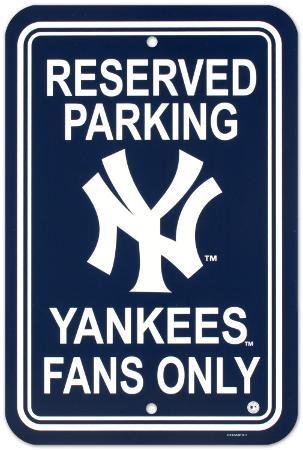 New York Yankees Parking Sign