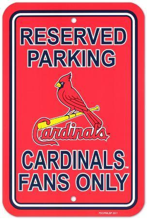 NFL St. Louis Cardinals Parking Sign