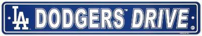 Los Angeles Dodgers Street Sign
