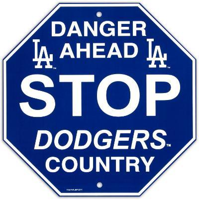 Los Angeles Dodgers Stop Sign
