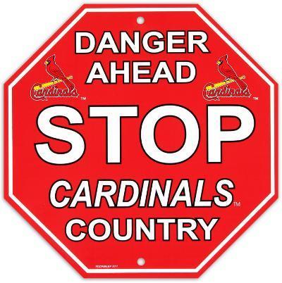 St. Louis Cardinals Stop Sign