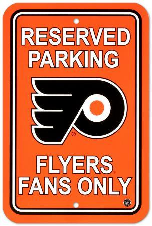 Philadelphia Flyers Parking Sign