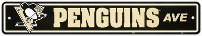 Pittsburgh Penguins Street Sign