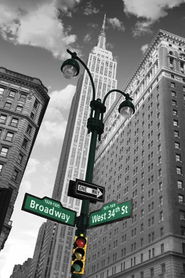 New York Street Signs Photo At Allposters Com