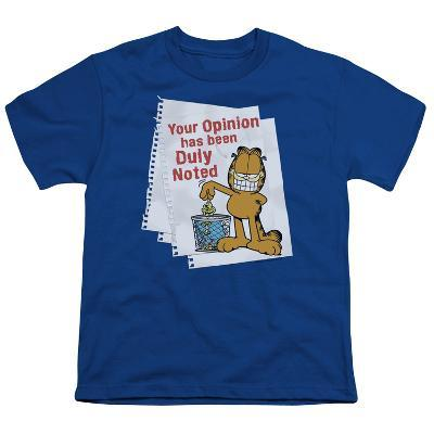 Youth: Garfield - Duly Noted