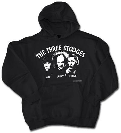 Hoodie: Stooges Silhouette