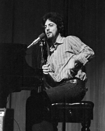 Billy Joel, Charlie Auringer, 1969, Wayne State University, Detroit, Michigan
