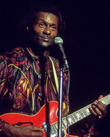 Chuck Berry, Charlie Auringer, 1969, Toronto Pop Festival, Toronto, Ontario