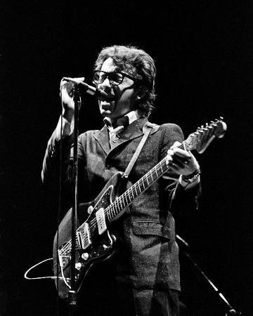 Elvis Costello, Thomas Weschler, 1978, Royal Oak Theater, Royal Oak, Michigan