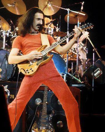 Frank Zappa, Rick Kohlmeyer, 1978, Milwaukee Arena, Milwaukee, Wisconsin