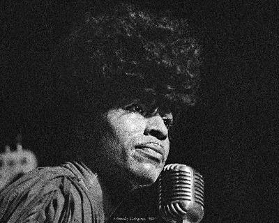 Little Richard, Stanley Livingston, 1979, Michigan Theatre, Detroit, Michigan