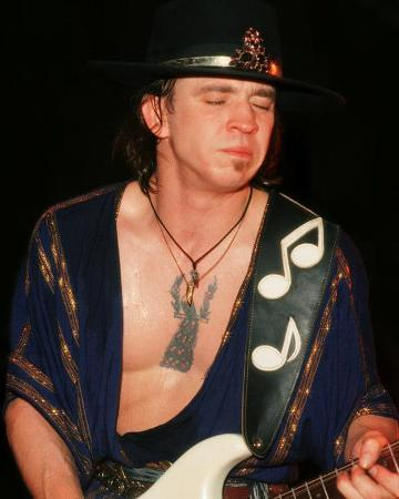 Stevie Ray Vaughan, Rick Kohlmeyer, 1984, Summerfest, Milwaukee, Wisconsin