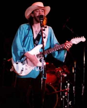 Stevie Ray Vaughan, Steve Galli, 1984, Royal Oak Music Theater, Royal Oak, Michigan
