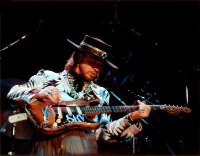 Stevie Ray Vaughan, Steve Galli, 1986, Royal Oak Music Theater, Royal Oak , Michigan