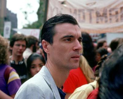 Talking Heads, Mark Honickel, 1982, No Nukes Rally, New York City, New York
