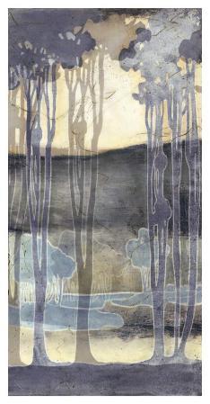 Embellished Nouveau Landscape II