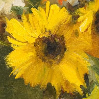 Sunflowers Square I