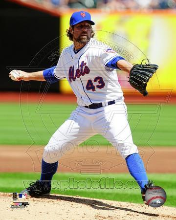 New York Mets - R.A. Dickey 2011 Action