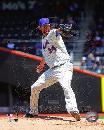 New York Mets - Mike Pelfrey 2011 Action