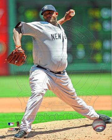 New York Yankees - CC Sabathia 2011 Action