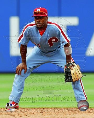 Philadelphia Phillies - Jimmy Rollins 2011 Action