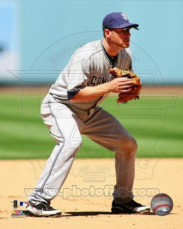 San Diego Padres - Chase Headley 2011 Action
