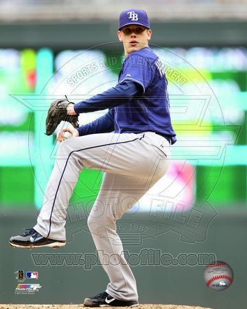 Tampa Bay Rays - Jeremy Hellickson 2011 Action