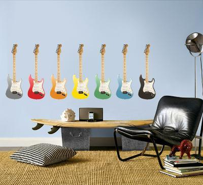 Guitars - Set of 7 Multi