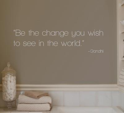 Change - Gandhi - Grey