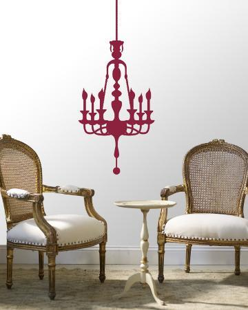 Red Classic Chandelier