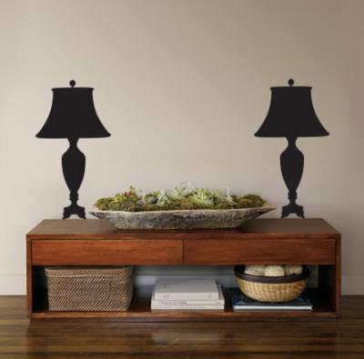 Black Victorian Lamps