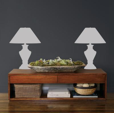 Grey Classic Lamps