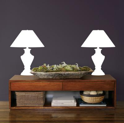 White Classic Lamps