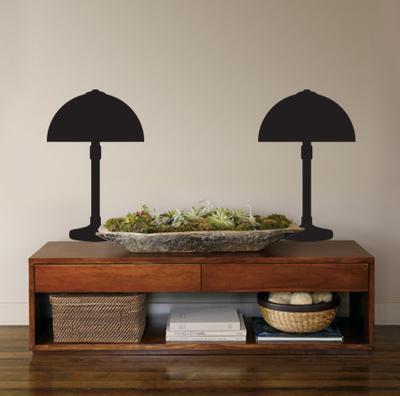 Black Deco Lamps