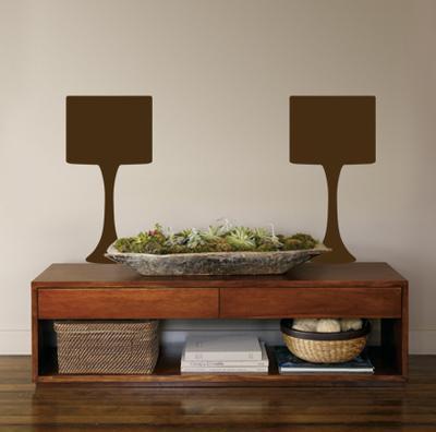 Brown Modern Lamps