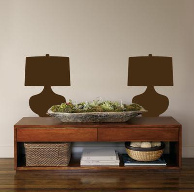 Brown Retro Lamps