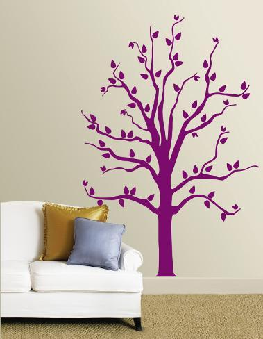 sc 1 st  AllPosters.com & Purple Tree Wall Decal at AllPosters.com