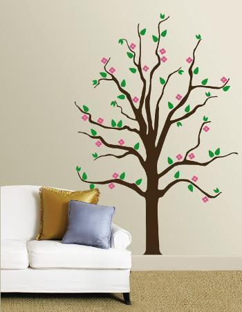 Pink Floral Tree