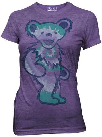 Juniors: Grateful Dead - Single Tie Dyed Bear