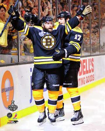 Boston Bruins - Rich Peverley & Milan Lucic