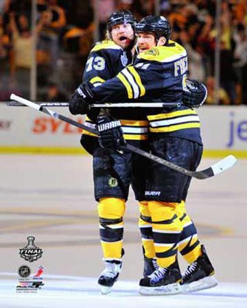 Boston Bruins - Michael Ryder & Andrew Ference