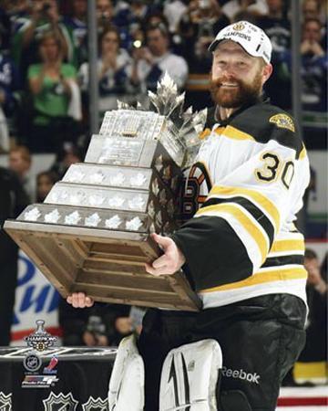 Boston Bruins - Tim Thomas w/ Conn Smythe Trophy