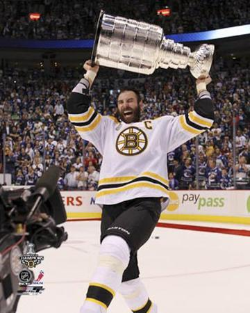 Boston Bruins - Zdeno Chara w/ Stanley Cup