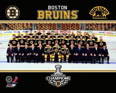 Boston Bruins - Bruins Team Sitdown Overlay
