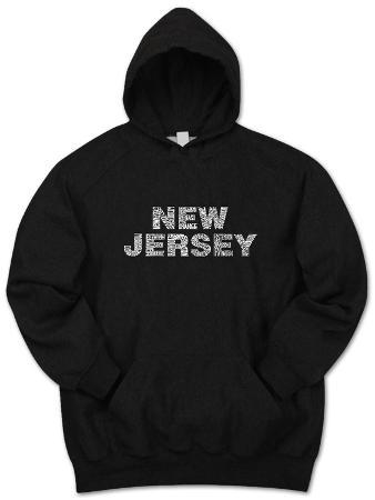 Hoodie: New Jersey