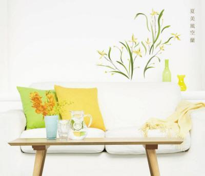 Yellow Flowers Wall Decal Sticker