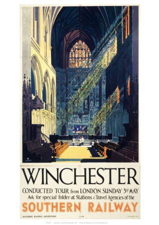 Winchester Inside Cathedral